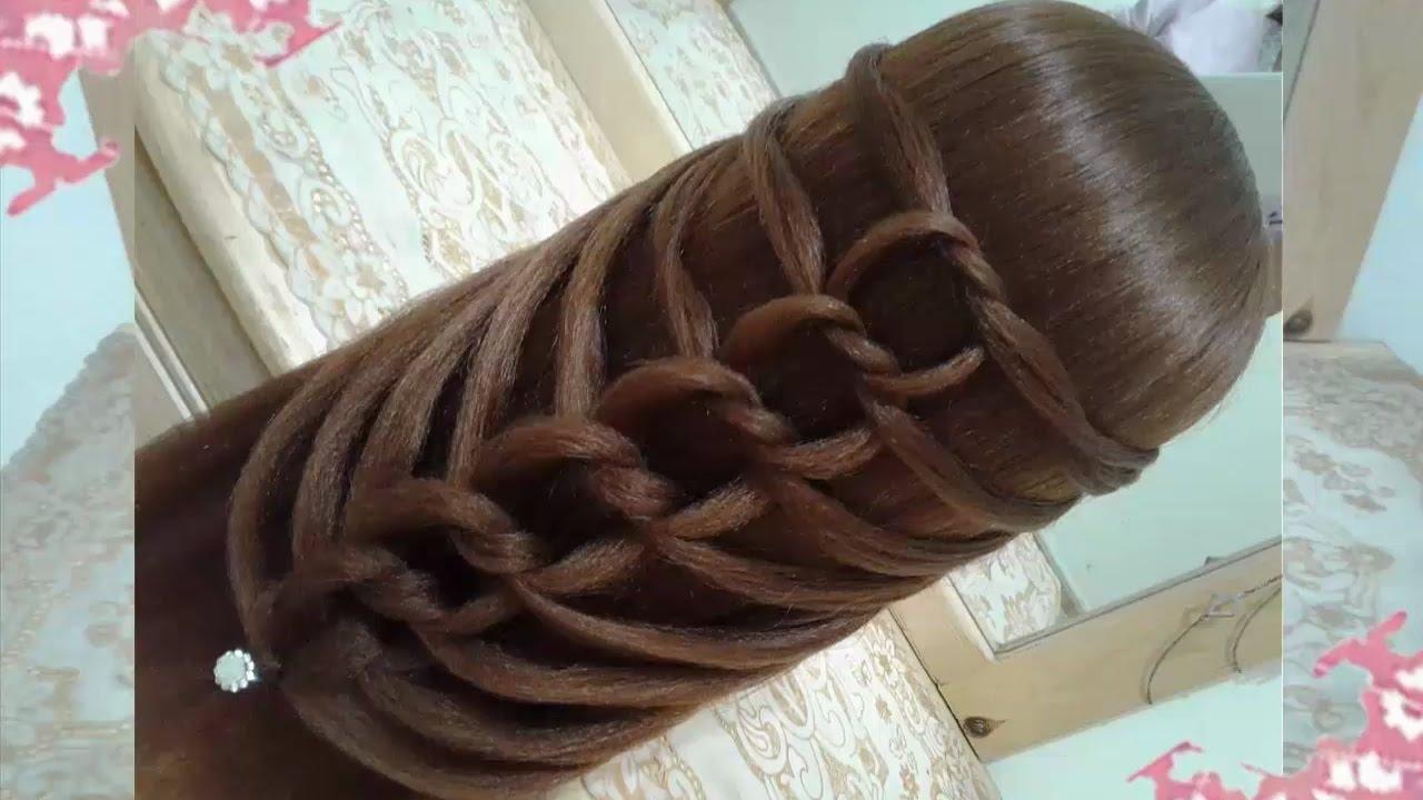 Bonito y cómodo peinados niñas sencillos Fotos de estilo de color de pelo - peinados recogidos faciles para cabello largo bonitos y ...