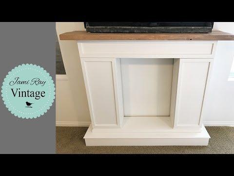 Faux Fireplace Build
