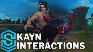 Kayn Special Interactions