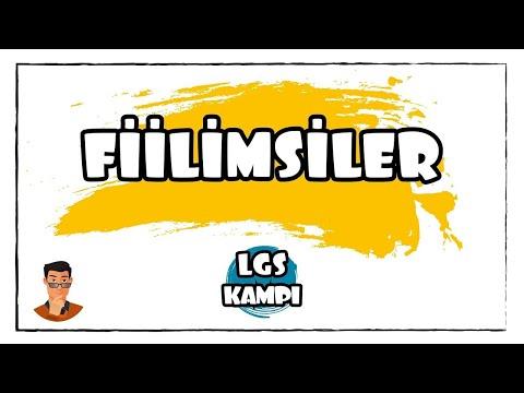 Fiilimsiler / LGS Kampı
