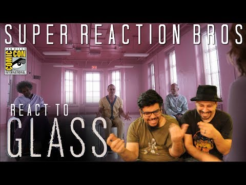 SRB Reacts to Glass - Official SDCC 2018 Trailer