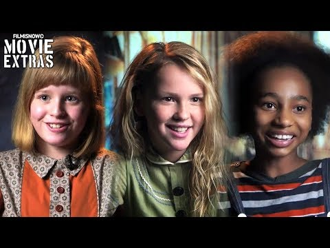 Annabelle: Creation  Onset visit with Lulu Wilson, Talitha Bateman & Tayler Buck