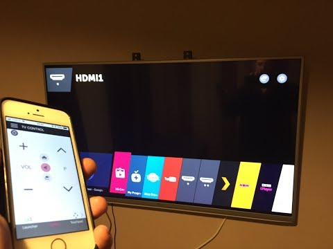 How to mirror iphone x to lg smart tv