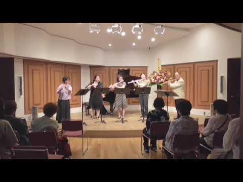 『幻令麗和』5本のフルートとピアノの為の幻想曲   柴田孝治郎 作曲