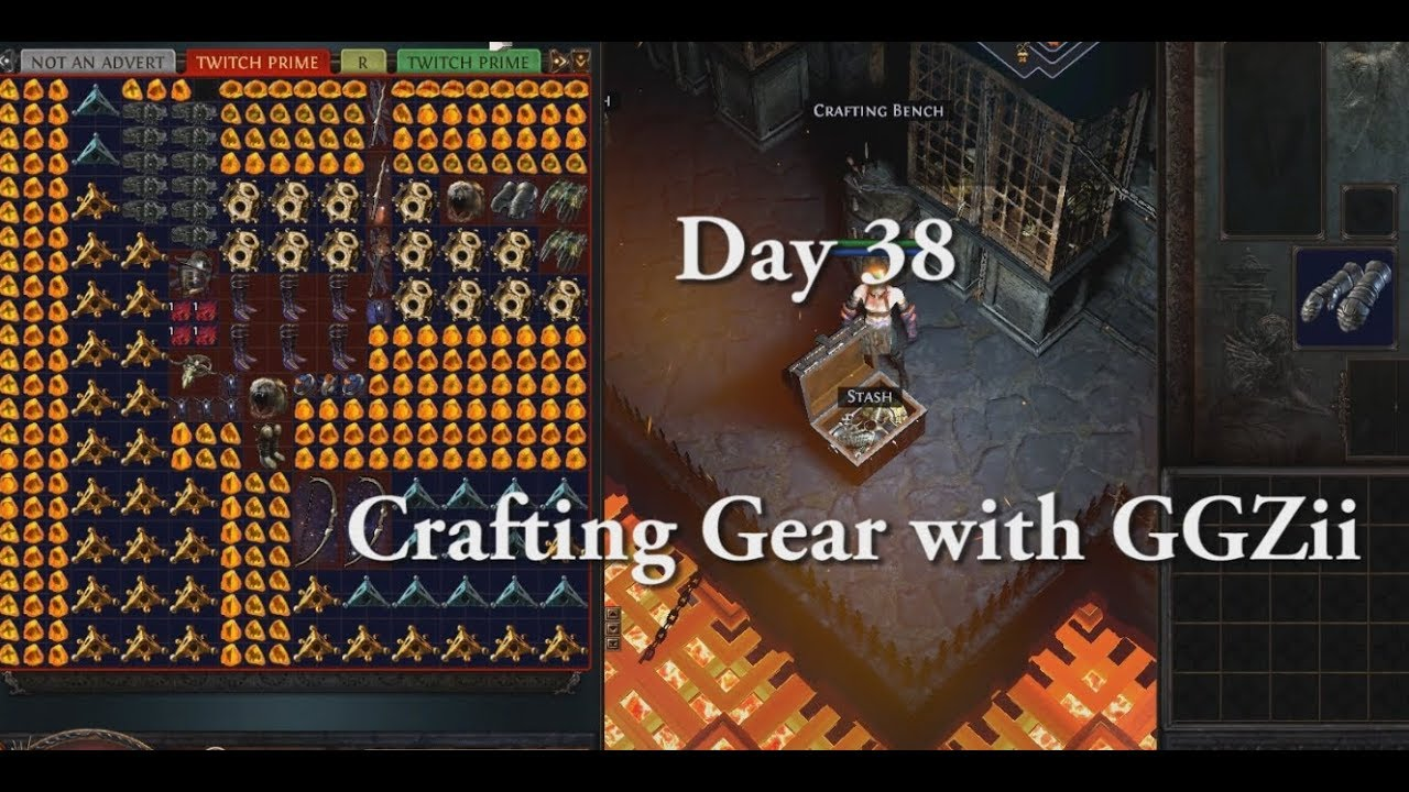 Path of Exile Day 38 - Fossil crafting Guide / What to look for