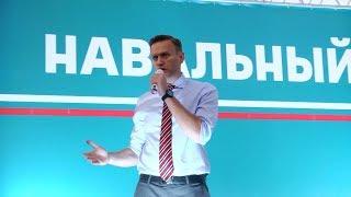Навальный пошел по Руси