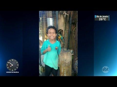 Polícia apreende menor de idade suspeito de matar menino de dez anos | SBT Brasil (26/02/18)