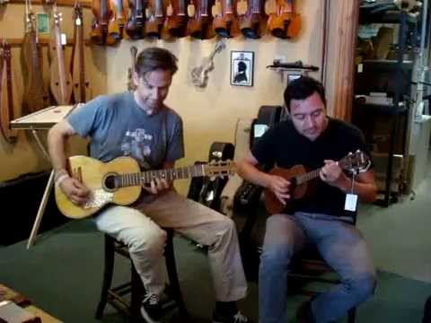 Joey Burns and Sergio Mendoza at The Folk Shop