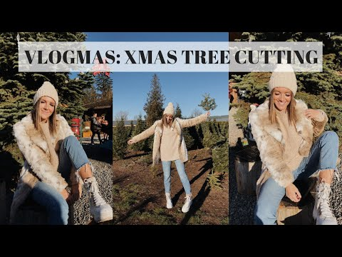 VLOGMAS 1: CHRISTMAS TREE CUTTING | Emma Rose