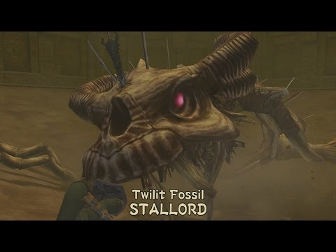 Twilit Fossil STALLORD Boss Fight - The Legend of Zelda: Twilight Princess HD from YouTube · Duration:  8 minutes 55 seconds