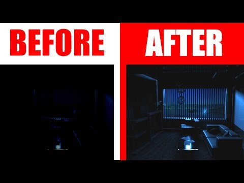 HOW TO GET NIGHT VISION ALMOST INSTANTLY! (Life Hack!)