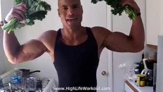 """""""gangsta Greens"""" Juicing Fruits And Vegetables For Bodybuilding (big Brandon Carter)"""