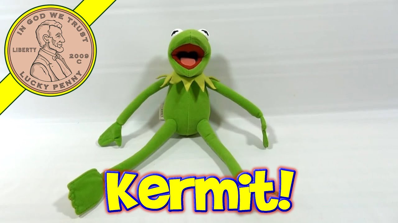 Kermit The Frog Nanco Plush Doll 2 Jim Henson St