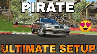 Pirate Ultimate Setup + Test Drive! (Nissan Laurel) | CarX Drift Racing Update! 1.13.0