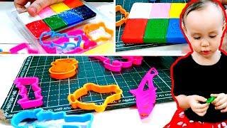 Plasticine for children, sculpt funny little men✿✿✿Alisa's Funny Stories