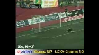 Кубок России 2006. Финал. ЦСКА - спартак  3 - 0