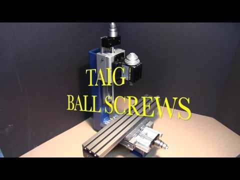 Taig Ball Screws