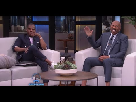 Tracy Bethea - Kirk Franklin and Steve Harvey Share a Moment