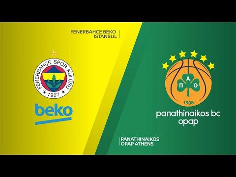 Fenerbahce Beko Istanbul - Panathinaikos OPAP Athens Highlights   EuroLeague, RS Round 20