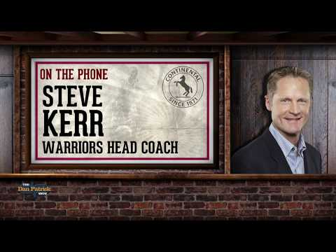 GSW Head Coach Steve Kerr on The Dan Patrick Show | Full Interview | 9/28/17
