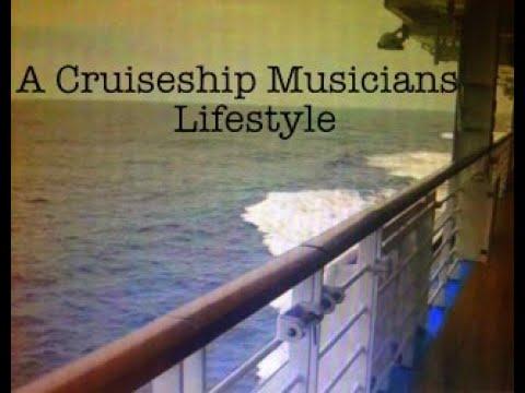 A Cruiseship Musician Lifestyle ( Part 1/ 5mts) By PeteN