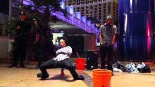 Las Vegas Strip Freestyle -- Battling Go-Go Yubari In Downtown L.A.