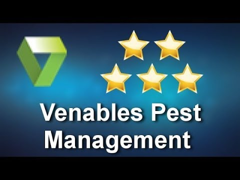 Venables Pest Management Reviews - 5 Star Review by Barbara L.