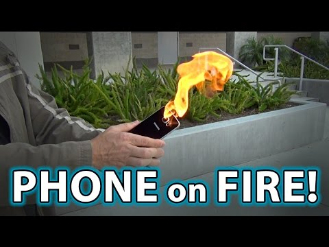 Note 7 Phone EXPLODES IN MY HAND!!