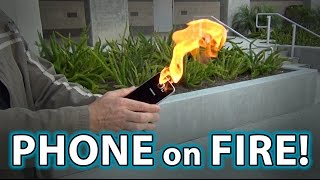 Repeat youtube video Note 7 Phone EXPLODES IN MY HAND!!