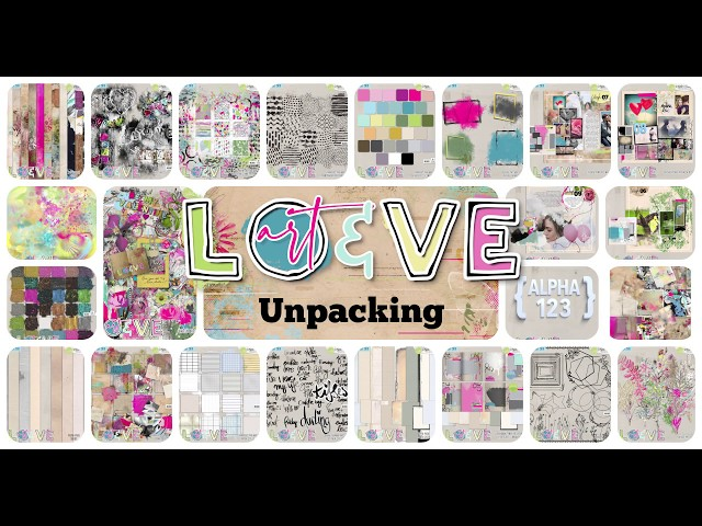 art & love  collection - unpacking - by NBK-Design