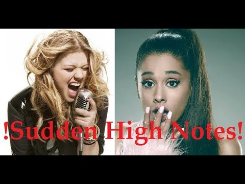 SUDDEN HIGH NOTES! - Female & Male Singers