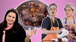 Who Can Bake A Better Cake - Pooja Dhingra vs Srishti & Shayan   BuzzFeed India