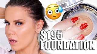 $195 CAVIAR FOUNDATION WORTH IT???