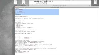 RPC demo using date time