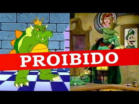O Programa de TV do Super Mario que foi PROIBIDO!