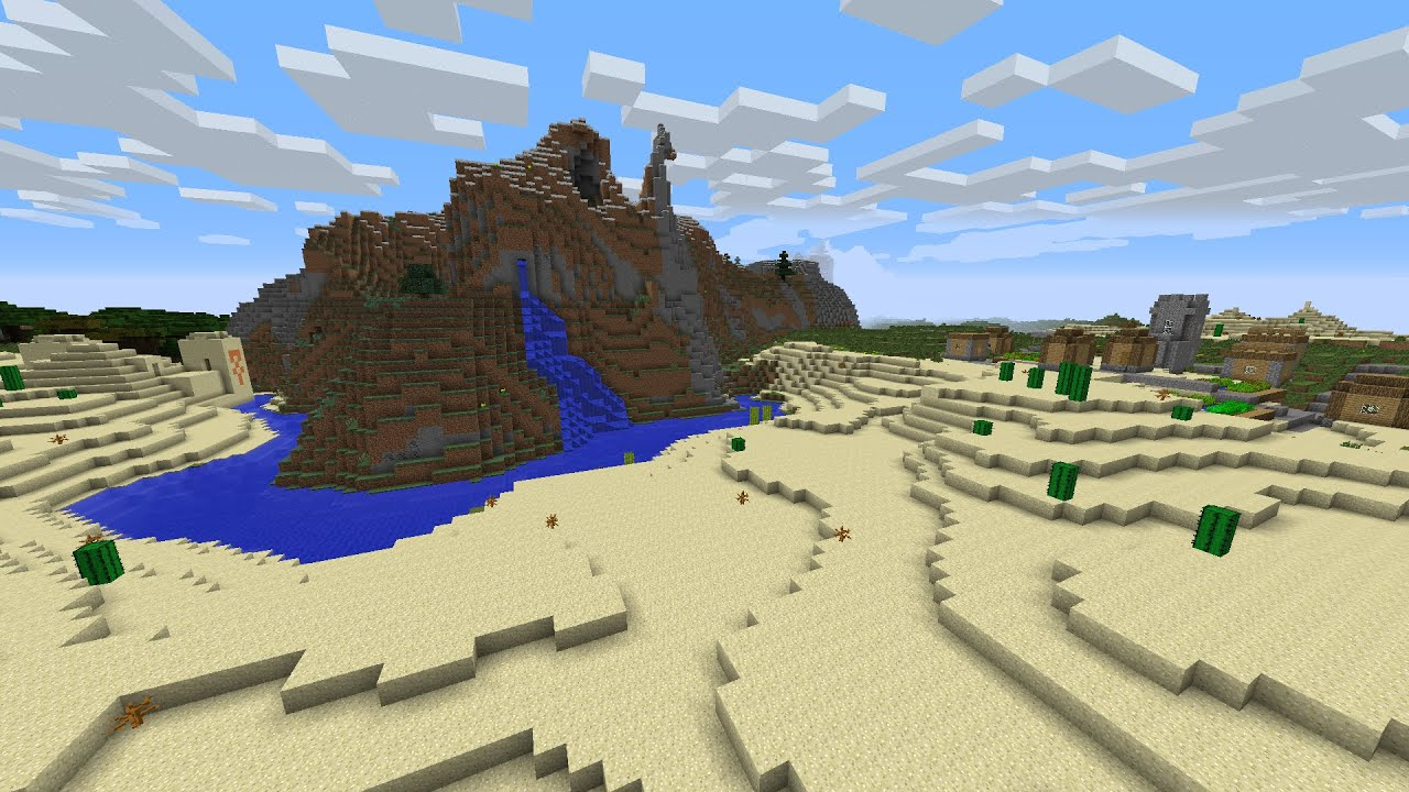 Minecraft 1 7 10 Seed Spawn 2 Npc Villages Plains