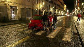 Alluvione Catania, l'automobilista: