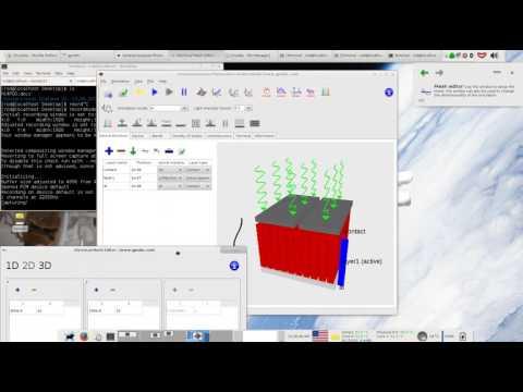 general purpose photovoltaic model (gpvdm) v4.7 release video.