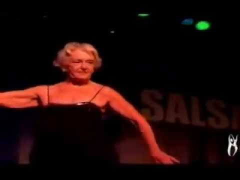 Ginger Rogers Dances Salsa At 92 Years Old