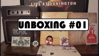 Acdc Backtracks Deluxe Collectors Edition + Amplificador | UNBOXING #01