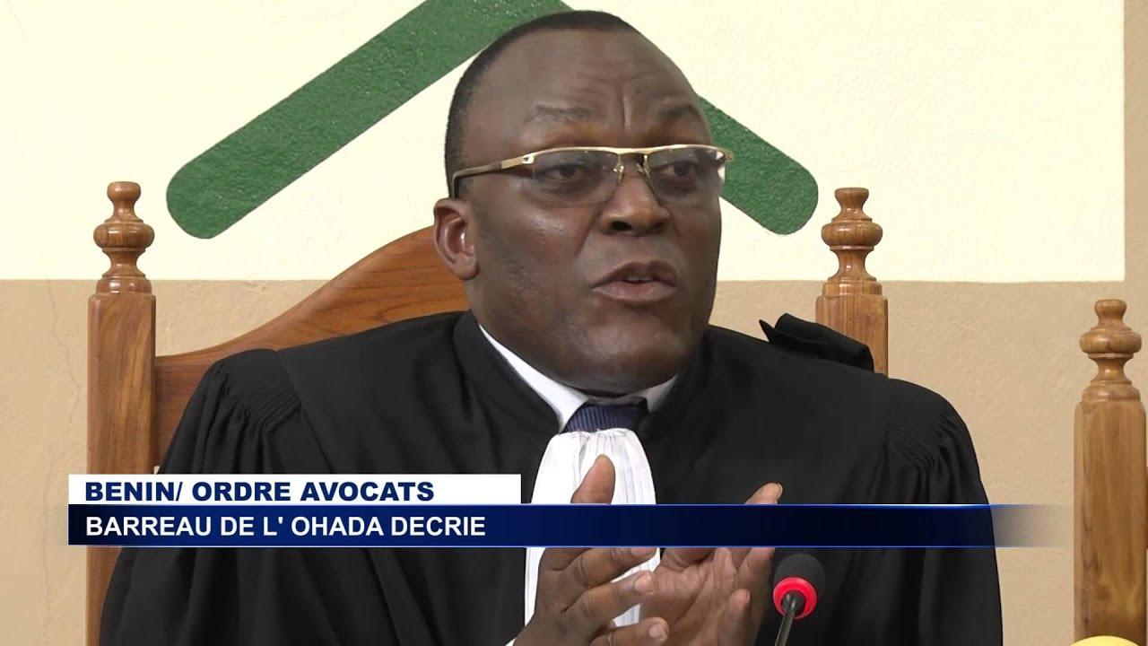 BENIN l ordre des avocats proteste contre l institutionnalisation