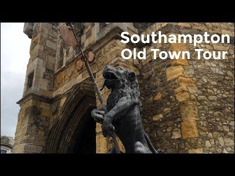 Southampton Medieval Old Town Walls Video Tour