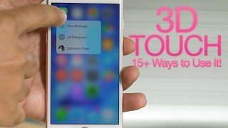 Top 3D Touch tips for iPhone 6s
