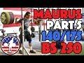 Harrison Maurus Part 5/11 Pre 2017 WWC Training 140/175 + 250kg BS [4k60]