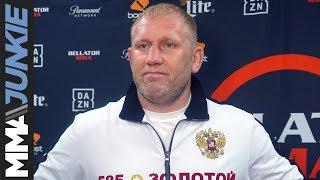 Bellator 225: Sergei Kharitonov full pre-fight interview