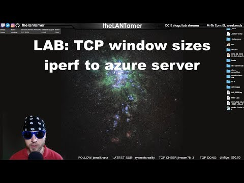 day 268 - LAB: iperf and tcp window testing with server in azure  68 days