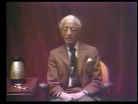 J. Krishnamurti - Los Alamos, New Mexico 1984 - Scientists Talk - Can thought be creative?