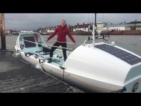 Interview with BBC Essex Radio about my 1,800 mile rowing challenge around Great Britain