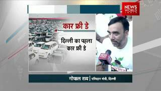 Exclusive Delhi Transport Minister Gopal Rai on First Delhi Car Free Day