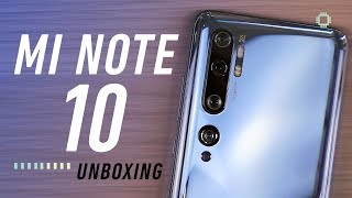 Xiaomi Mi Note 10 Unboxing - First 108MP phone in Malaysia!